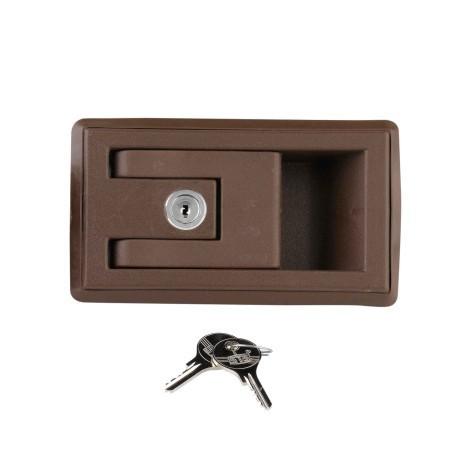 Cerradura puerta rectangular caravana accesorios caravanas - Precios de cerraduras para puertas ...