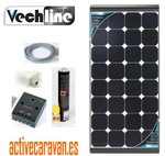 Kit Placa Solar Black Cristal 170W 20% Mayor Rendimiento