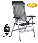 Silla plegable MERIDA SILVER 150Kg. CAMP4