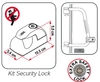 Kit Security Lock Cieerre Seguridad Para Security 36 Y 46