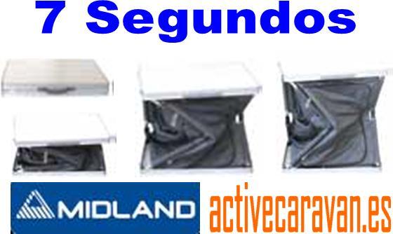 Mueble de cocina 7 Segundos Plegable en aluminio Midland Camping