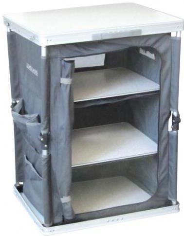 Mueble de cocina 7 segundos plegable en aluminio midland for Muebles de cocina para montar