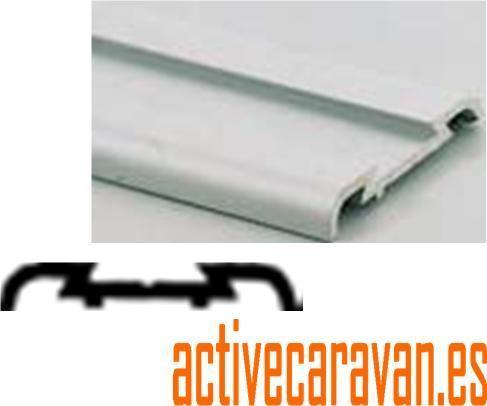 Perfileria selladores etc accesorios caravana autocaravana for Barras de aluminio para toldos
