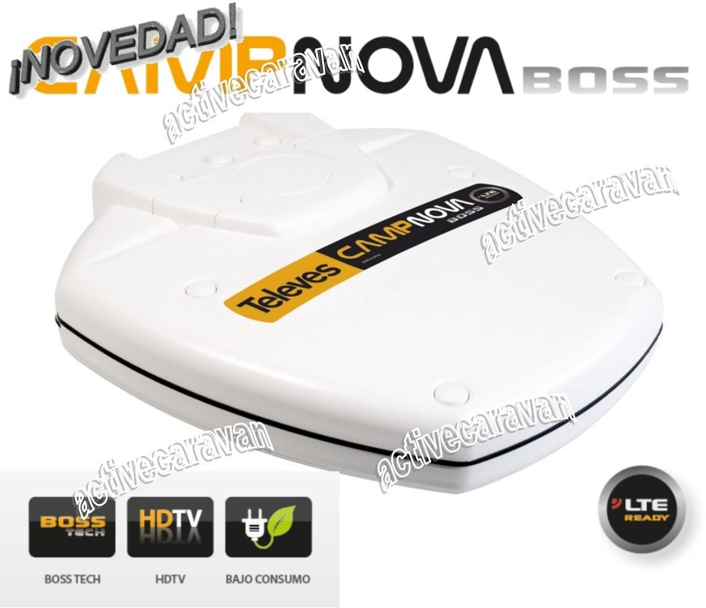 Antena televes campnova boss lte ready activecaravan camping - Antenas televes precios ...