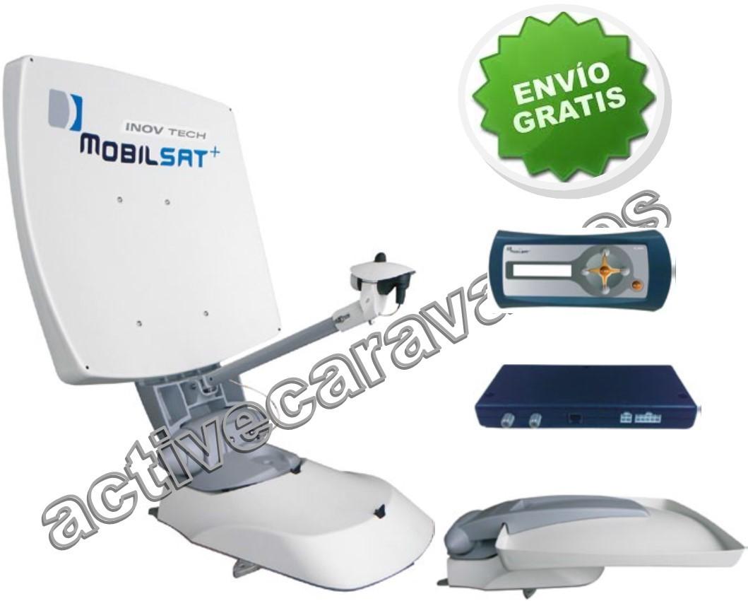 Antena satelite autom tica mobilsat inovtech - Antena satelite interior ...