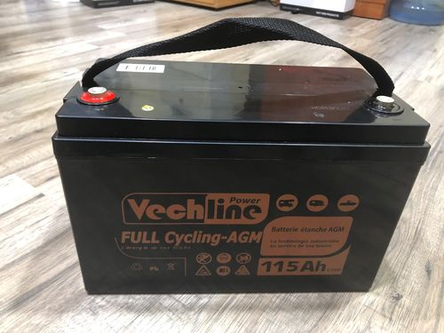 VECHLINE BATERIA AGM FULL CYCLING 115AH