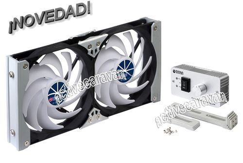 TITAN MAXI DOBLE VENTILADOR FRIGO ABSORCION