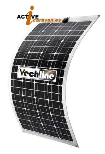 Panel Solar Monocristalino Flexible 100W Vechline